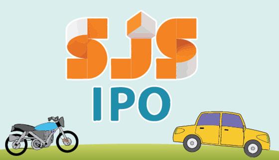 SJS Enterprises IPO opens on November 1